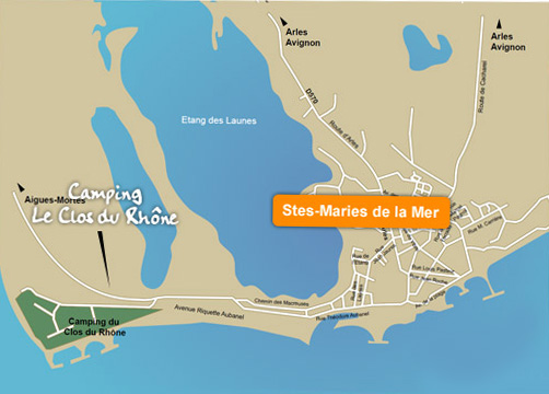 Plan d acc s - Office du tourisme les saintes maries de la mer ...