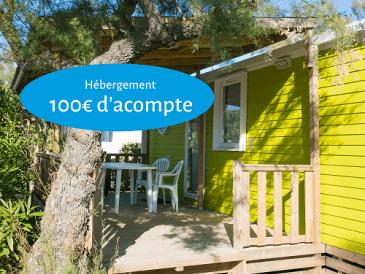 100€ d'acompte pour une réservation en cottage