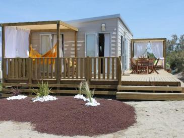 Le cottage VIP au Camping Sunêlia Le Clos du Rhône